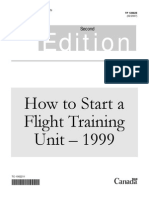 How to Start a Flight Training Unit