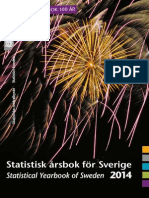 Statistical Yearbook of Sweden 2014