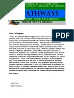 Pathways Newsletter, Winter 2014