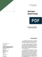 Ideologia y Epistemologia