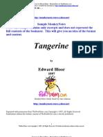 Tangerine by Edward Bloor - MonkeyNotes by PinkMonkey.com the Full
