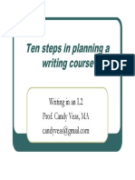 Writing in an L2_planning a Writing Course