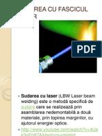 Sudarea Cu Fascicul Laser