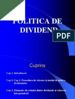 p19 Politica de Dividend