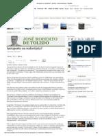 aeroporto ou rodoviária - José Roberto de Toledo