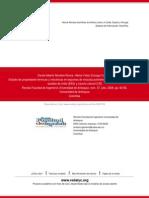 Estudio de propiedades térmicas y mecánicas en espumas de mezclas poliméricas entre copolímero de et