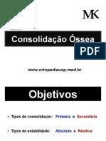 Consolidação Ossea