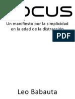 Focus (en español) - Leo Babauta