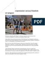 Freedom of Expression Versus Freedom of Religion MSN News Arabia