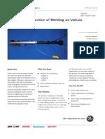 70051EF Ultrasonic Inspection of Welding on Valves