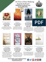 ALA Midwinter RHLibrary Book Buzz January 2014 Handout