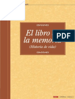El Libro de La Memoria II Actividades