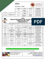 Agenda 2014 APEC