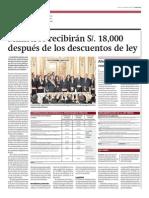 Ministros recibirán S/. 18,000 después de los descuentos de ley_Gestión_11-02-2014_página 2