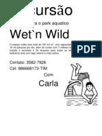 Excursão wetn wild