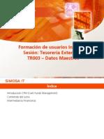 7.- Datos Maestros TRM