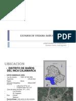 EXPANSION URBANA BAÑOS DEL INCA