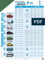 Tarifa SOAT 2014