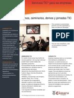 Seminarios y cursos TIC