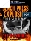 Bench Press To New Levels