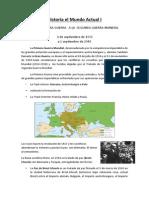 Historia El Mundo Actual (Apuntes)