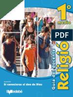 GUÍA DEL DOCENTE RELIGIÓN 1 MEDIO EDEBE