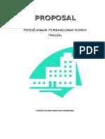 85358589 Contoh Proposal Pekerjaan Rumah