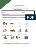 Formas e Revestimento Do Corpo Dos Animais - Ad. Curriculares