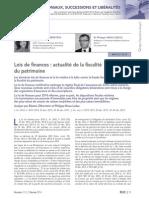 RLDC Février Lois de finances