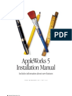 appleworks5WIN Installation