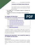 Tema 5. Normativa Publicitaria