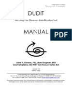 Dudit Manual