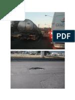 Problemas viales en Guadalajara