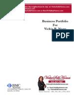 Business Portfolio for Vickie Nagy, Realtor