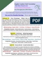 Feb June 2014 PHGC Newsletter