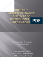 Unidad 5 Sistemas Distribuidos