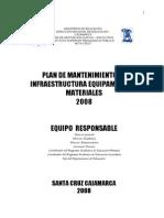 plandemantenimientodeinfraestructuraequiposymateriales2008-120720065339-phpapp01