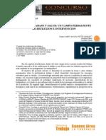 La relación trabajo y salud documento gob de bs as