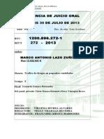 CARAT  RIT 272-13- MARTES 30-jULIO-GILDA.doc