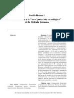 2 Una critica a la interpretación tecnologica RSP-FP