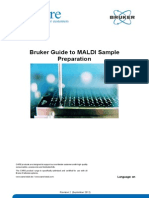 Bruker Guide MALDI Sample Preparation Rev2