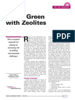 Going Green With Zeolites