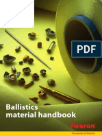 Twaron Ballistics Material Handbook1