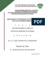Seguridad e Integridad Estructural de Plataformas Marinas