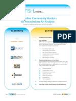 SocialFish Online Community Vendor Analysis Whitepaper