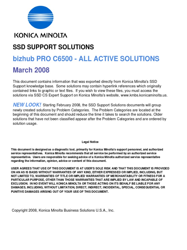 c6500_solutions.pdf | Portable Document Format | Installation (Computer  Programs)