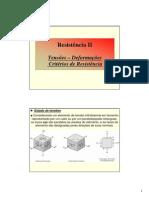 Tensões - Deformações - Critérios -Alunos .pdf