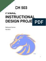 Instructional Design Project
