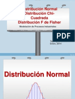 Distribuciones Normal Chi Cuadrado Fisher