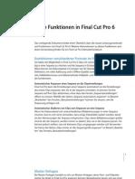 Final Cut Pro 6 New Features D